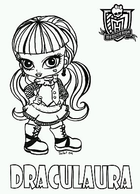 ImagesListcom Monster High for Coloring Draculaura part 1