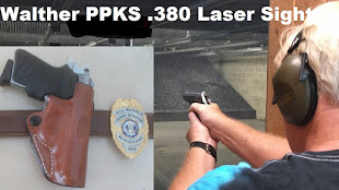 My concealed carry weapon is a Walther PPKS .380 with Laser Sight