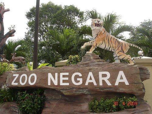 10 km ke Zoo Negara