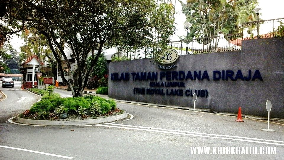 Kelab Taman Perdana Diraja Kuala Lumpur, Royal Lake Club, Taman Tasik Perdana