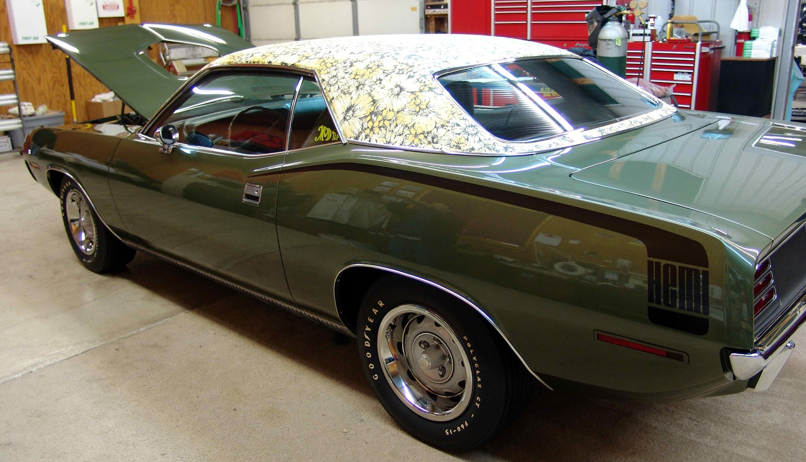 Just A Car Guy One 1970 Hemi Cuda Was Made With A Mod Top