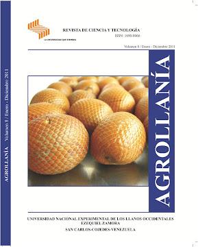 REVISTA AGROLLANÍA INICIA RECEPCIÓN DE TRABAJOS 2012