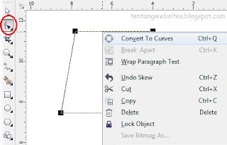 cara buat logo sederhana dengan corelDraw