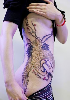 Bird Tattoos, Tattooing