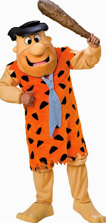 The Flintstones - Fred Flintstone Mascot Adult Costume