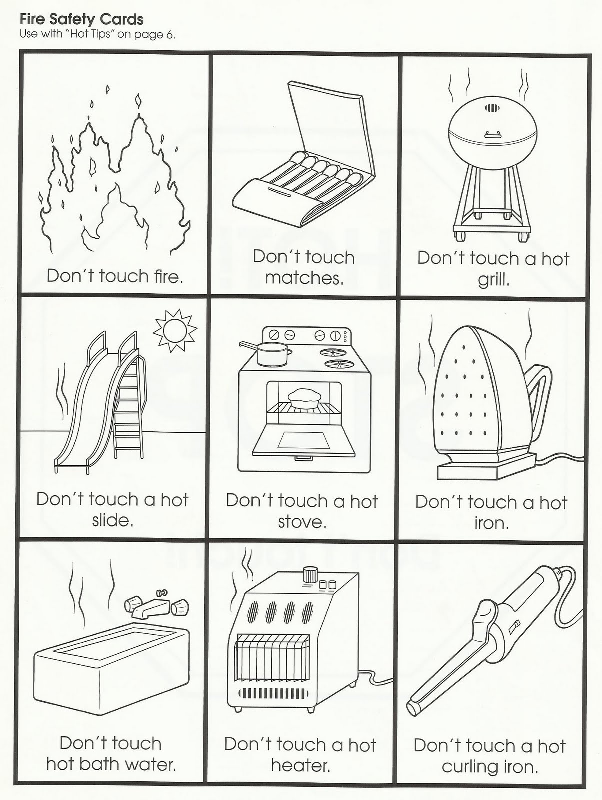 Fire Safety Worksheets Preschool http://squishideasforpreschool.blogspot.com/2011/11/fire-safety.html
