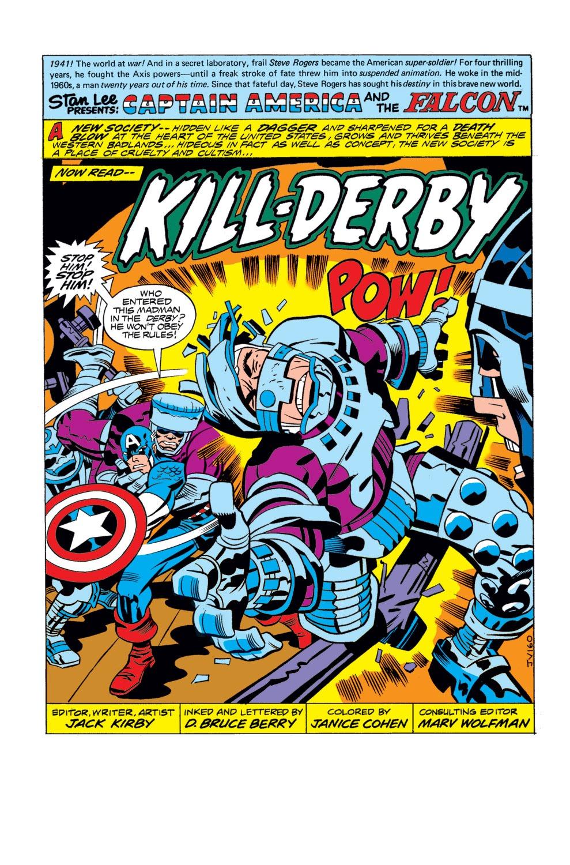 Captain America (1968) Issue #196 #110 - English 2