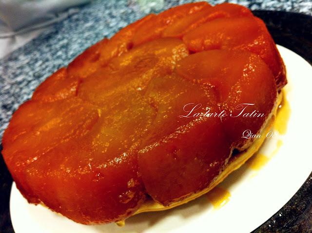 Les recettes de qian la tarte tatin - Recette tarte normande traditionnelle ...