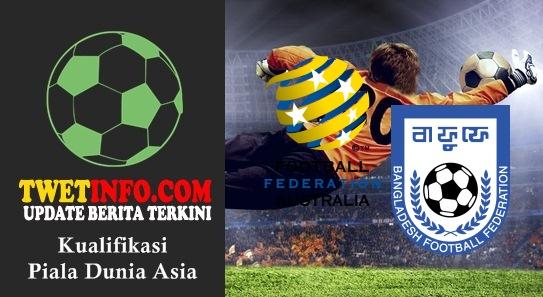 Prediksi Australia vs Bangladesh, Piala Dunia Asia 03-09-2015