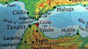 Spain: UFO Case Histories of Ceuta By Angel Carretero Olmedo (map of ceuta)