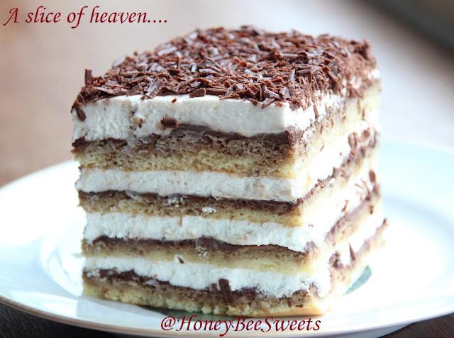 Honey Bee Sweets: Heavenly Egg-less Tiramisu