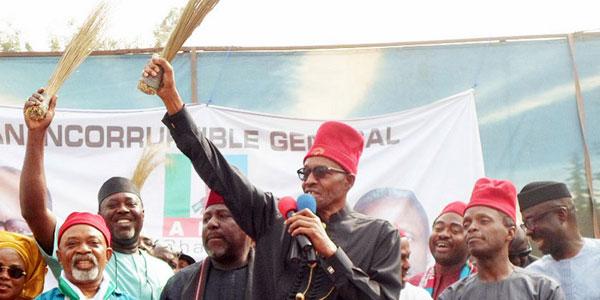 APC Is Broke But Won't Run To Buhari For Help - Chairman