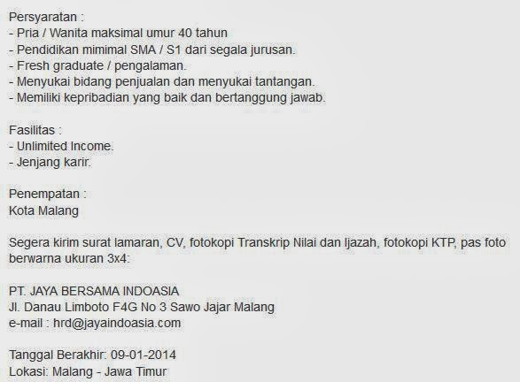 lowongan-kerja-terbaru-januari-2014-malang-jatim