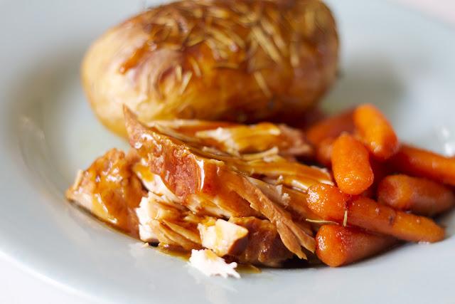 ... ' Chow Playin' House: Slow Cooked Teriyaki Glazed Pork Tender Loin