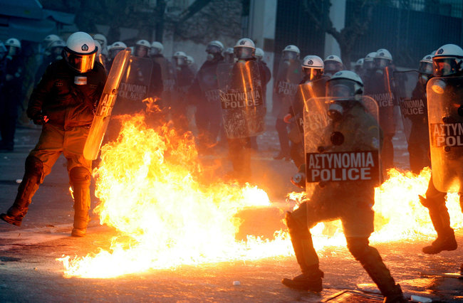 greeks and austerity