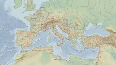 Περιηγήσου στο... google maps της Ρωμαϊκής Αυτοκρατορίας