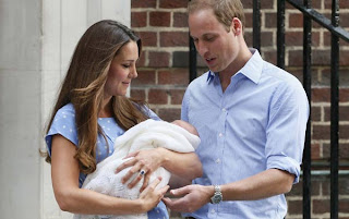 Foto Bayi Pangeran William dan Kate Middleton