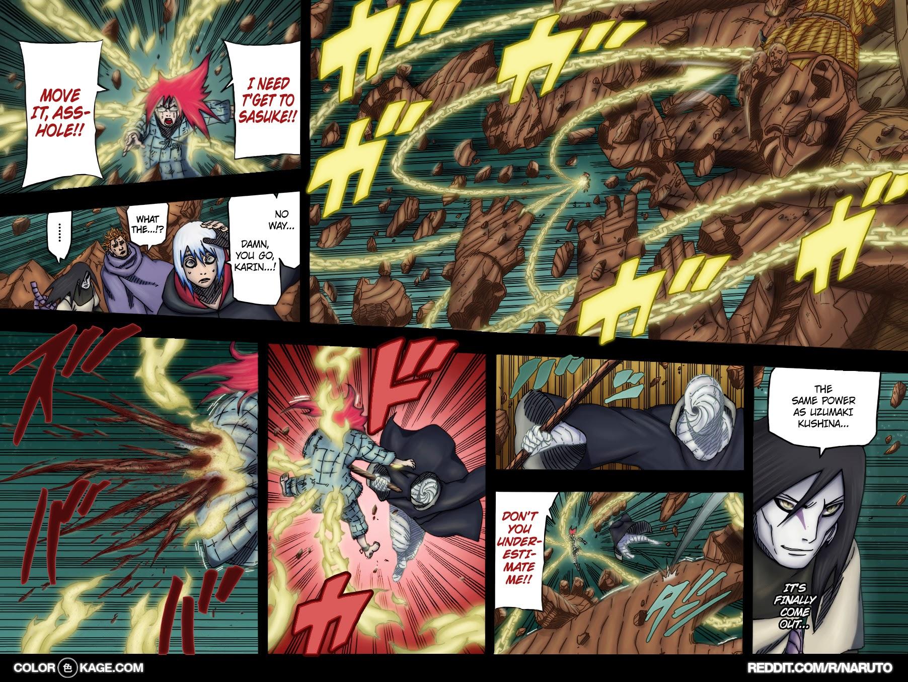 Naruto chap 672 Trang 19 - Mangak.info