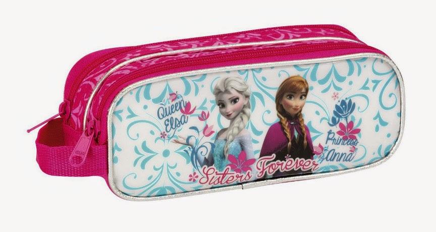MATERIAL ESCOLAR - DISNEY   Frozen - Estuche Portatodo doble   Producto Oficial | Safta 811438513