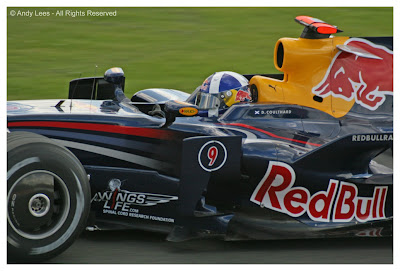 david coulthard red bull silverstone british grand prix