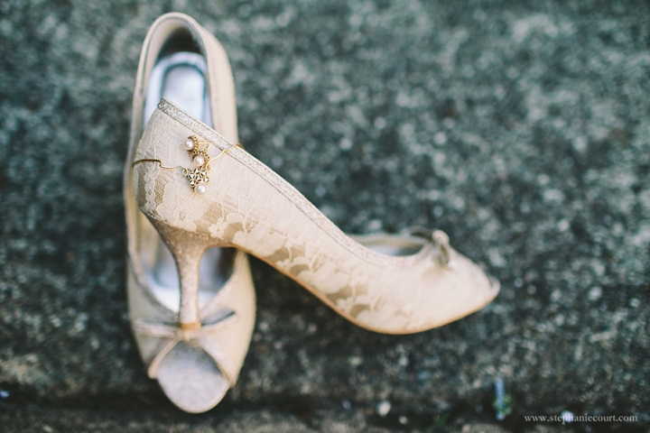 """ivory lace wedding shoes"""