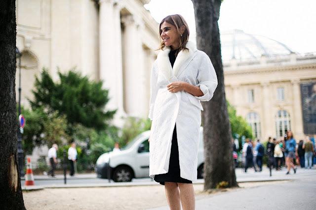 Para ir a lo oficina ¿qué me pongo?abrigo blanco