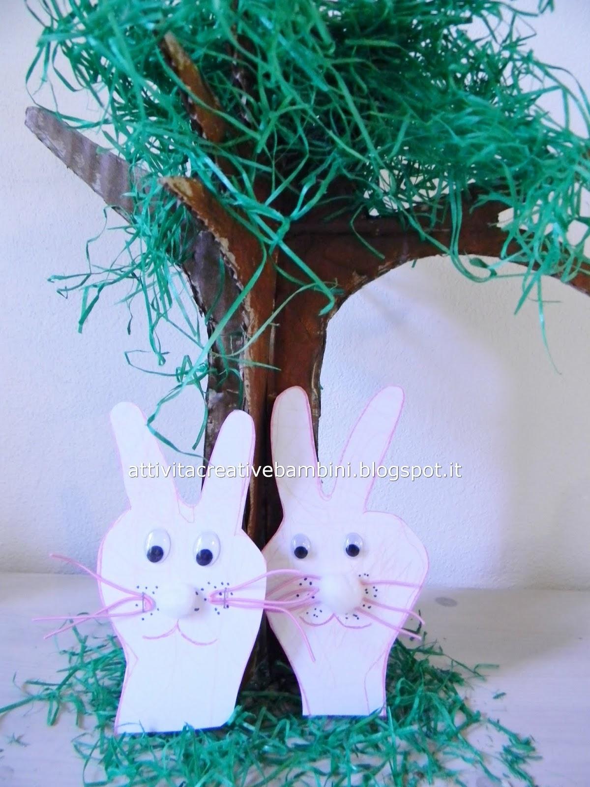 Coniglietti con le manine seconda versione for Baffetti mobili