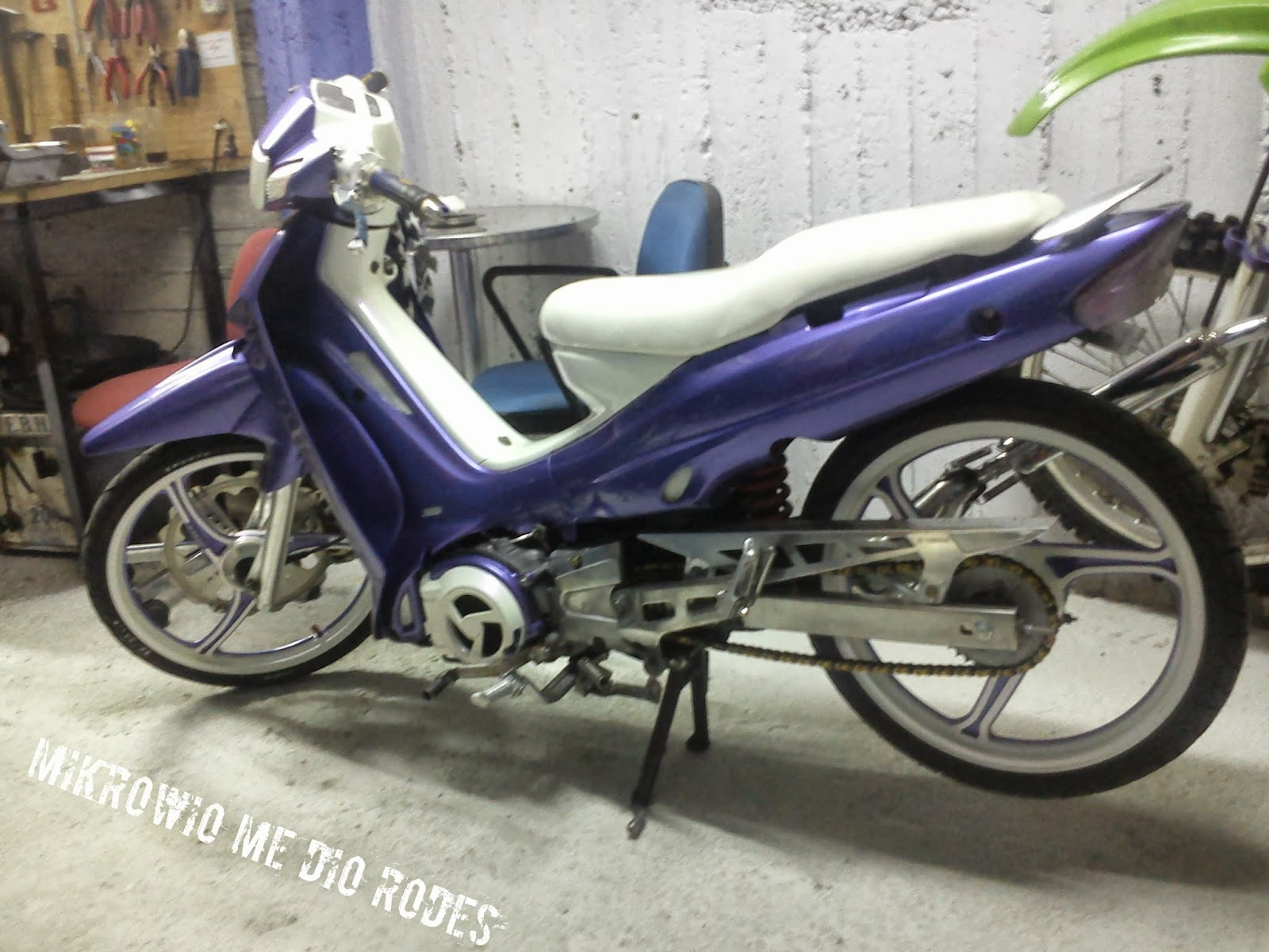 Mikrowio me dio rodes yamaha f1 140cc for Yamaha 221 vs 222