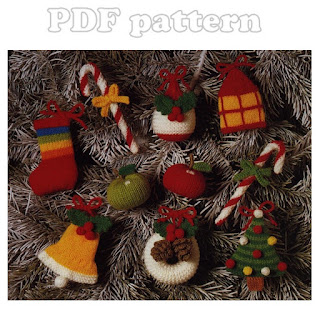 Knitting Pattern Central Christmas : KNITTED CHRISTMAS BELL PATTERNS Free Knitting and ...
