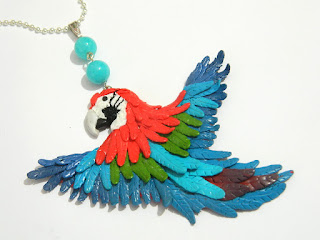 Papuga – kolorowa i radosna