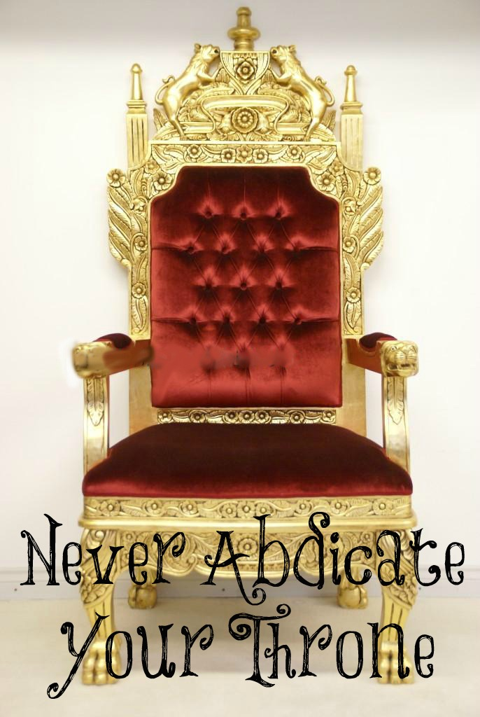 Image result for Abdicate