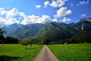 wisata alam pegunungan alpen swiss