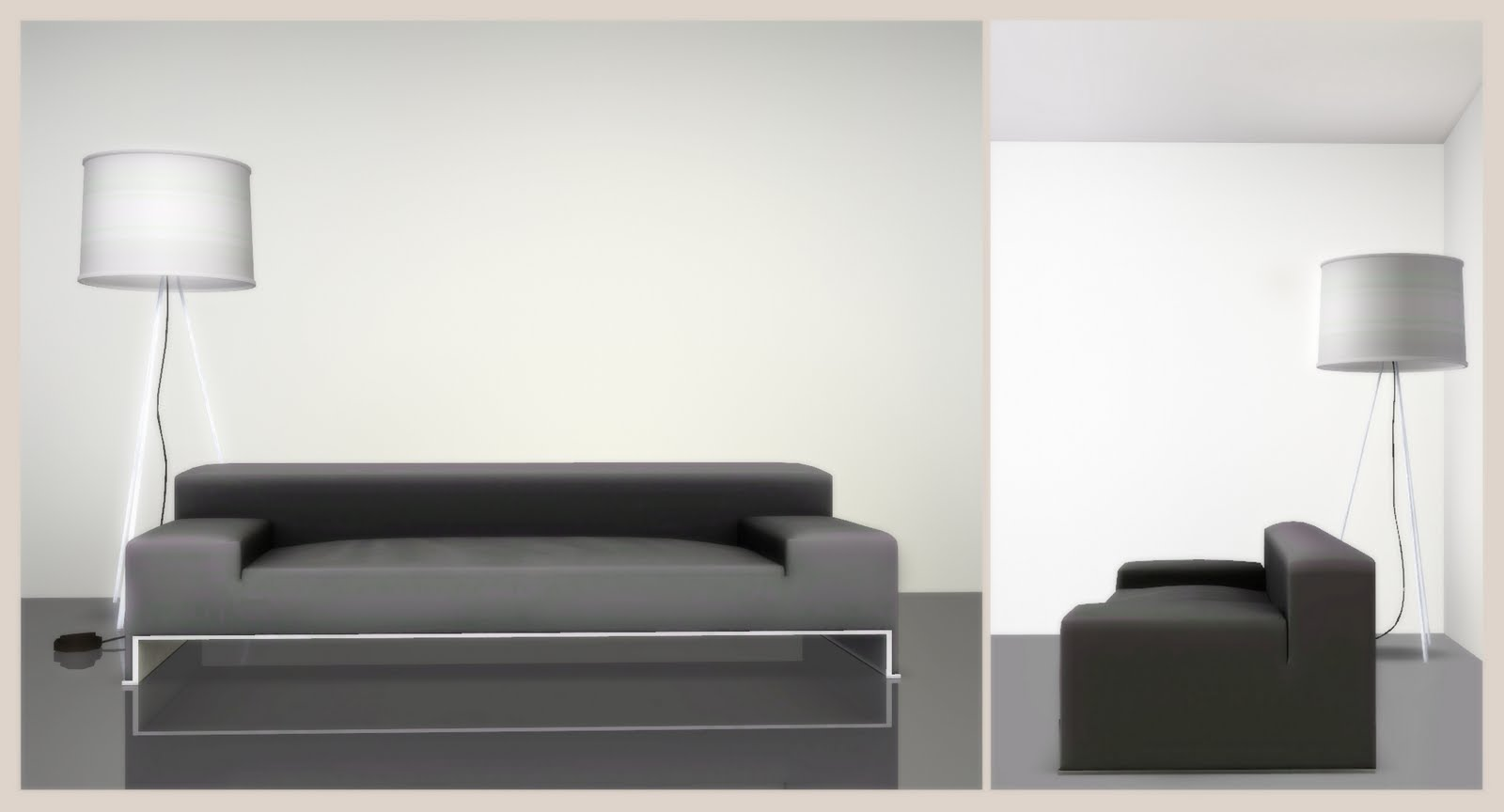 Very Impressive portraiture of My Sims 3 Blog: Bookshelves & Sofa Set by Nicky with #6F6C5C color and 1600x864 pixels