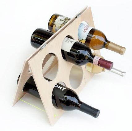Porta vinos sencillo