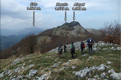 Dejamos la cima de Ubeltz
