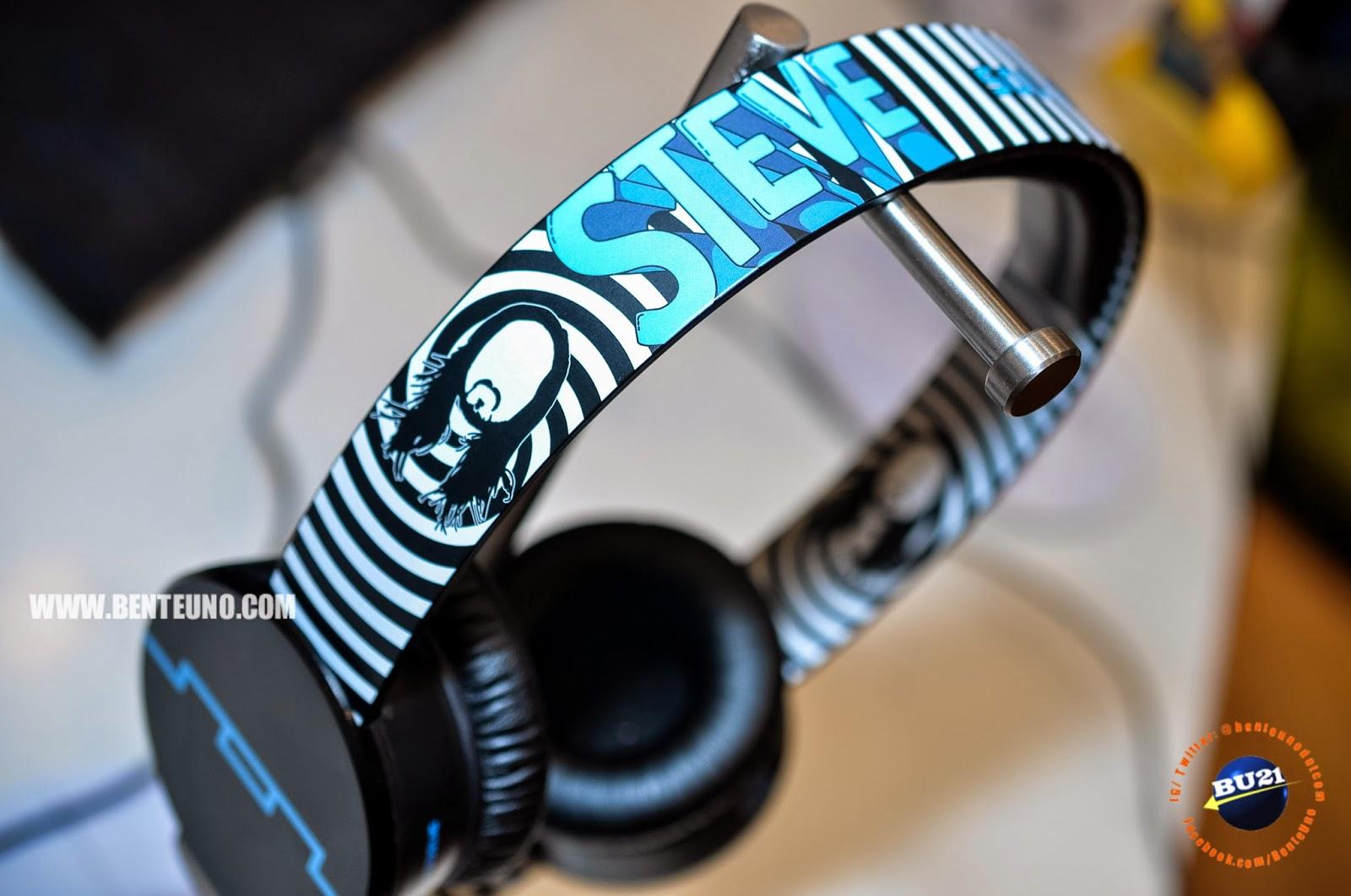 Steve Aoki Tracks HD On-Ear Headphones picture