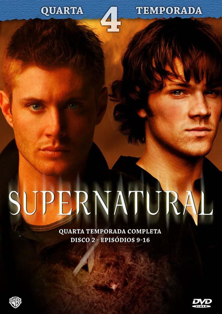 Sobrenatural 4ª Temporada Torrent - Blu-ray Rip 720p Dublado (2008)