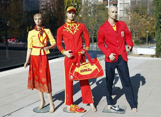 uniforme españa juegos olimpicos londres