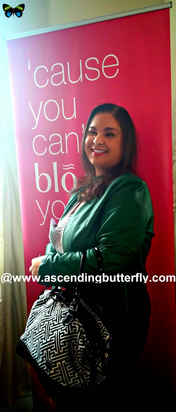 Ascending Butterfly gets a Blow Out at Blo Blow Dry Bar at BeautyPress Spotlight Day February 2014
