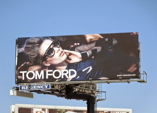 Tom Ford Eyewear Summer 2014 billboard