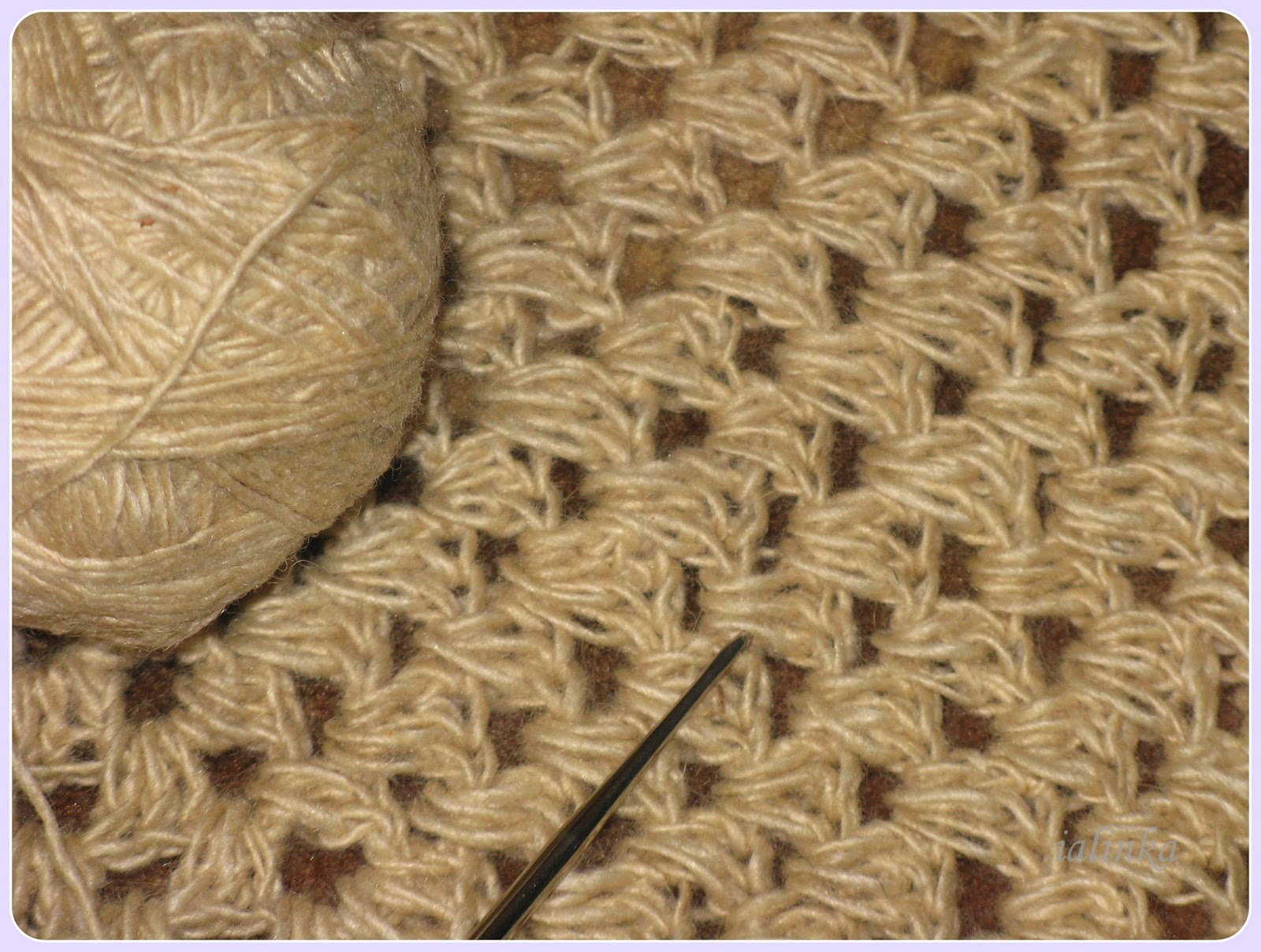 бабушкин  квадрат вязание крючком