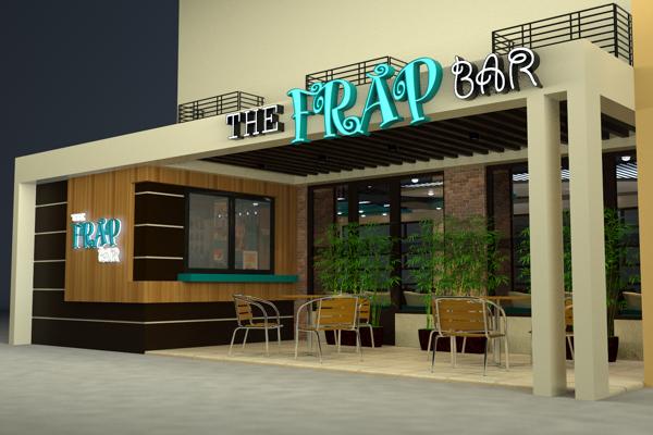 Contoh gambar desain interior dan exterior coffee shop for Coffee shop exterior design ideas