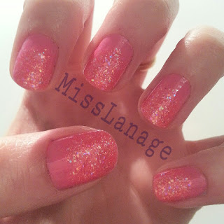 sinful-colors-pink-glitter-manicure