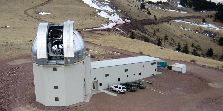 The New Mexico Institute of Mining and Technology's 2.4-meter (7.9-foot) Magdalena Ridge Observatory in Socorro County, N.M. Image Credit: New Mexico Tech