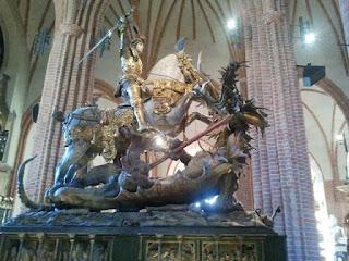 San Jorge con el Dragón