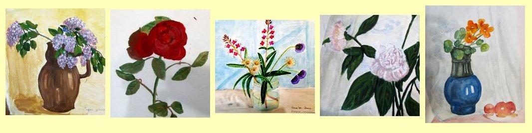 Мои натюрморты с цветами