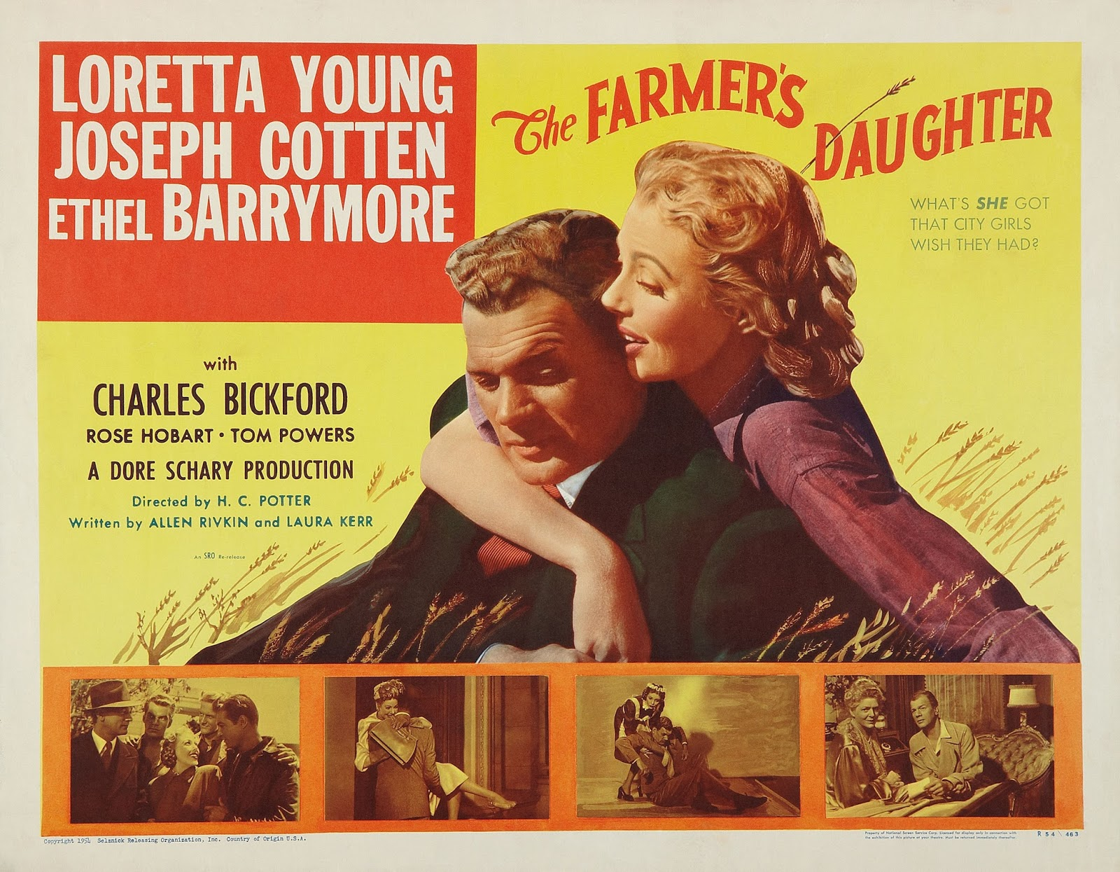 Farmer Daughter Loretta Young Dvd Loretta Young The Farmer's