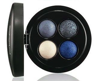 MAC mineralized eyeshadow x4 Sprinkle of Blues