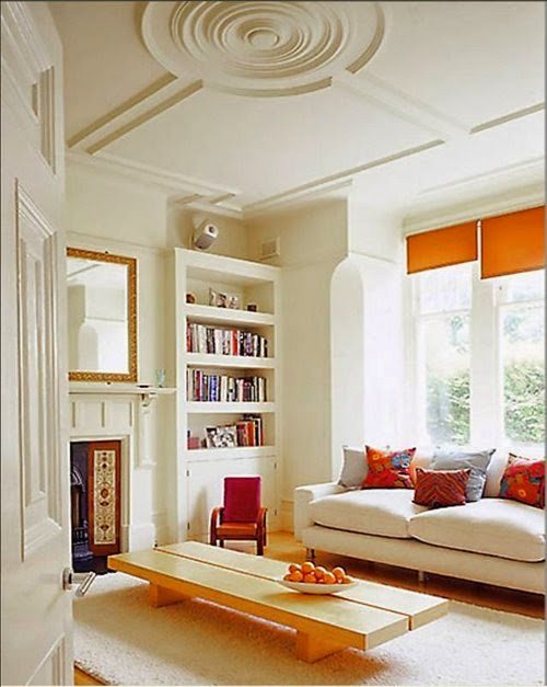 attractive ceiling designs for small living room