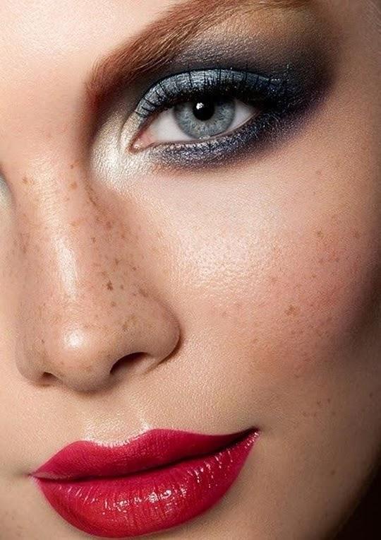 Maquillaje de fiesta y navidad